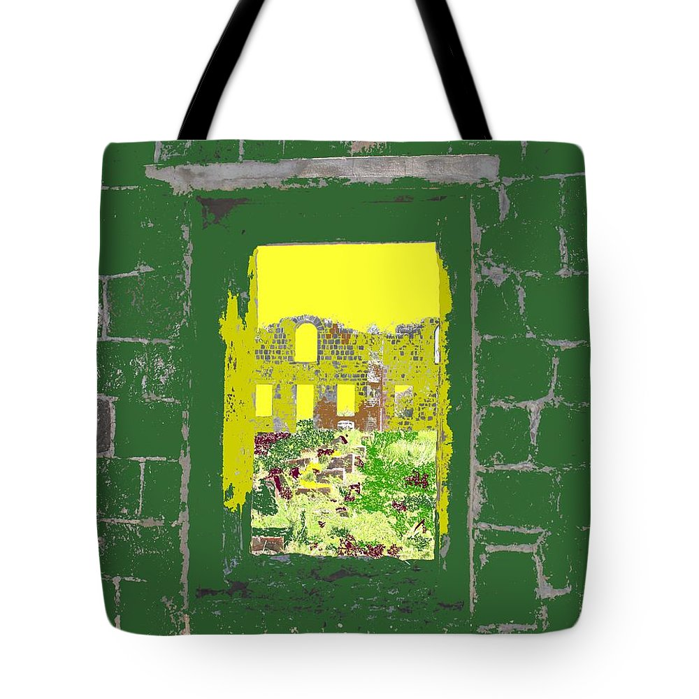 Brimstone Tote Bag featuring the photograph Brimstone Window by Ian MacDonald