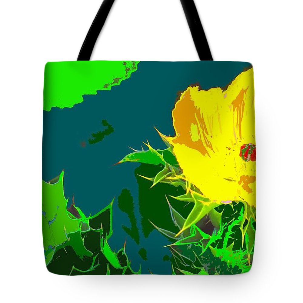 Tote Bag featuring the photograph Brimstone Yellow by Ian MacDonald