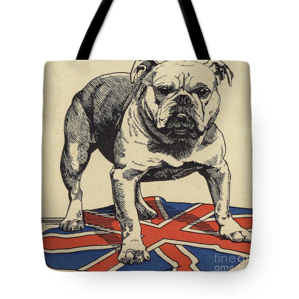 Bull Dog Tote Bag