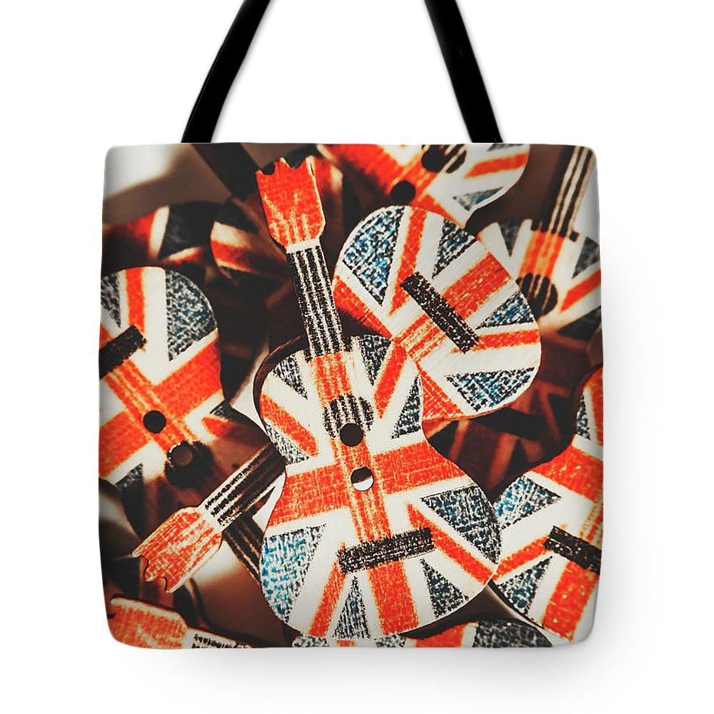 British Culture Photographs Tote Bags