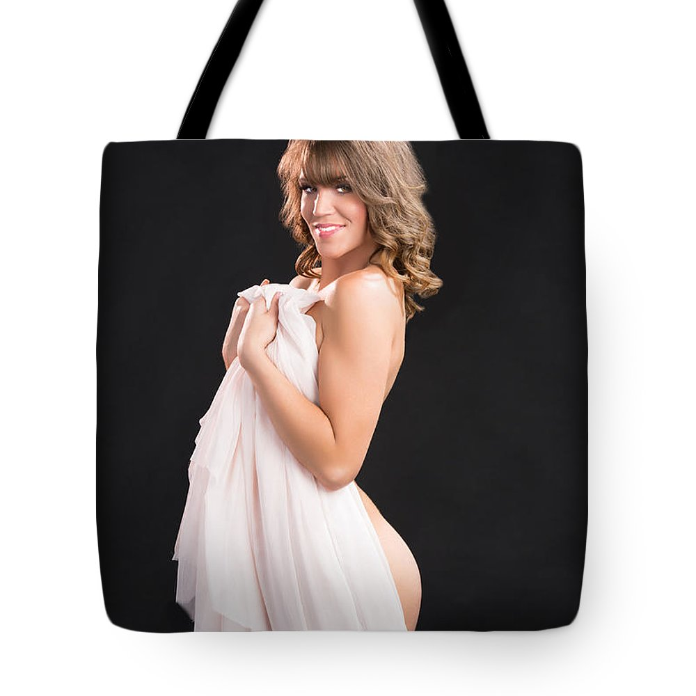 Sexy naked girls with bags fit woman