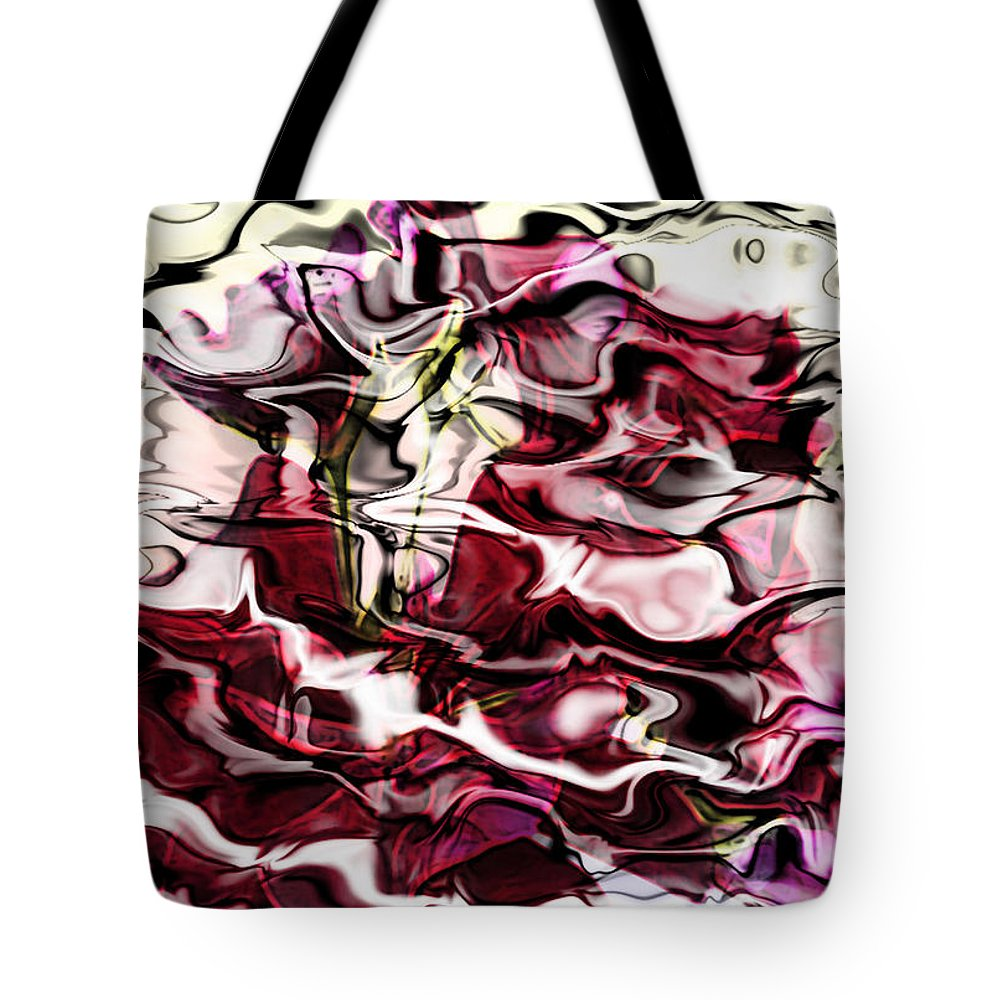 Ebsq Tote Bag featuring the photograph Broken Heart by Dee Flouton