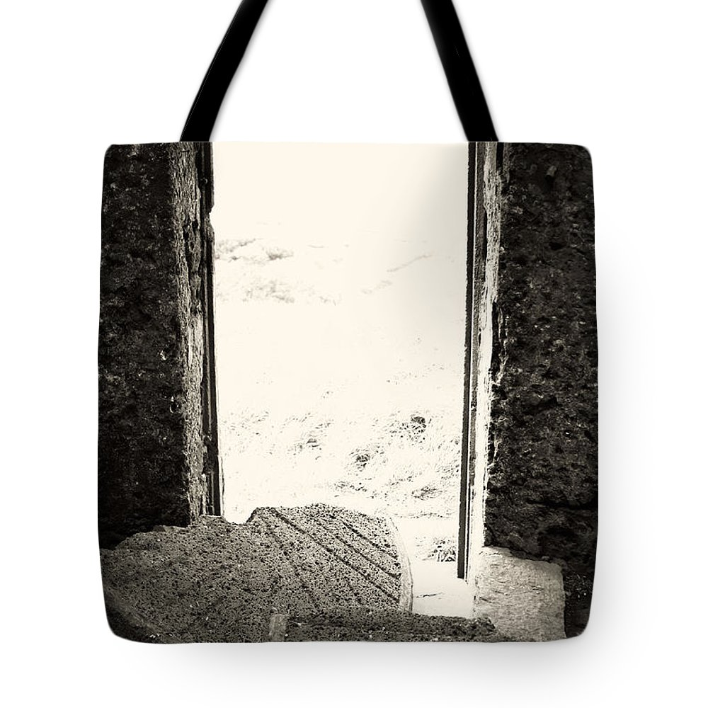 Azores Tote Bag featuring the photograph Broken Millstone by Gaspar Avila