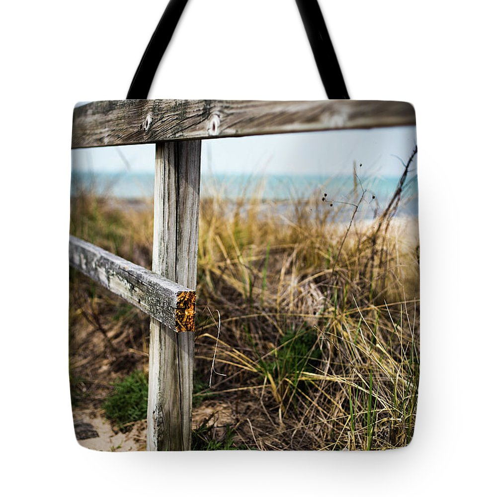 Tote Bag featuring the photograph Broken by Sue Conwell