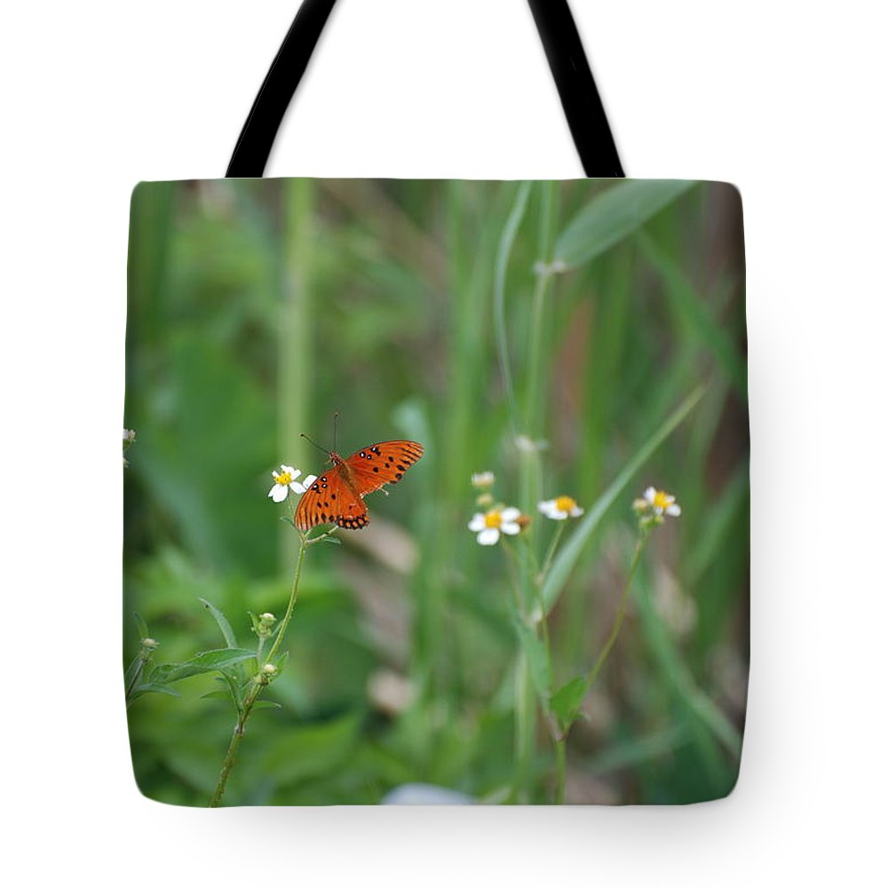 Butterfly Tote Bag featuring the photograph Broken Wing by Rob Hans
