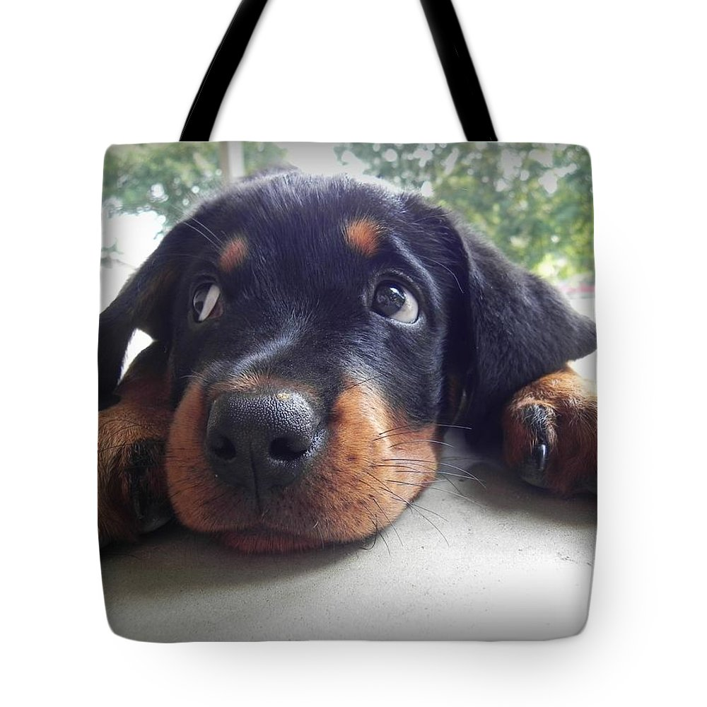 Brooke. Tote Bag featuring the photograph Brooke by Delana Epperson