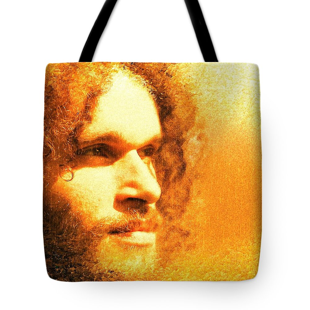 Brother Tote Bag featuring the photograph Brotherius V1 - Digital Person by Cersatti