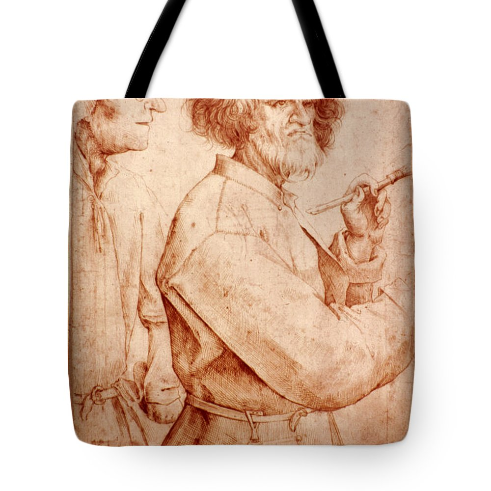 16th Century Tote Bag featuring the photograph Bruegel: Painter, 1565 by Granger
