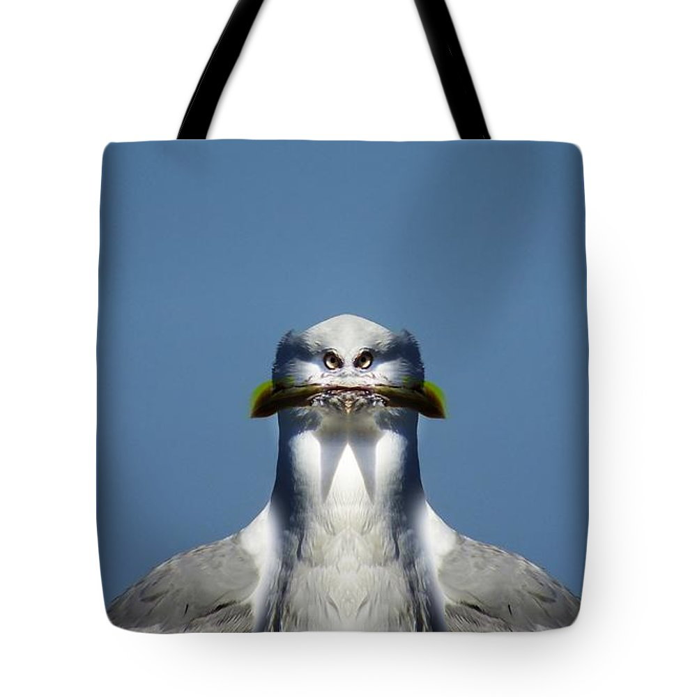 Digital Art Tote Bag featuring the photograph Brush Cut by Andy Klamar