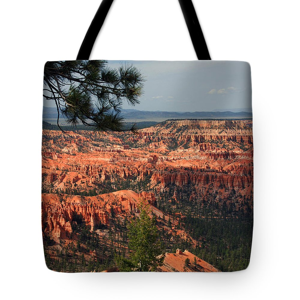 Photography Tote Bag featuring the photograph Bryce Canyon II by Susanne Van Hulst
