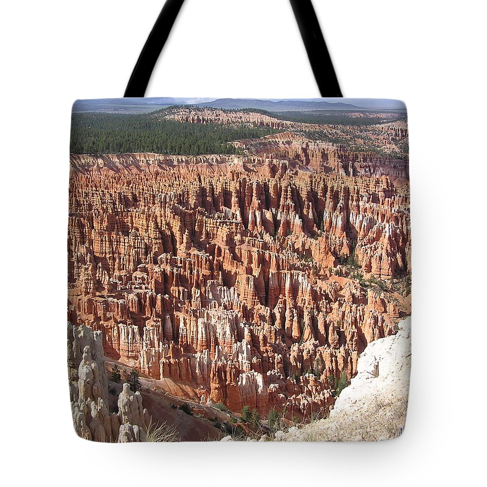 Bryce Tote Bag featuring the photograph Bryce by Louise Magno