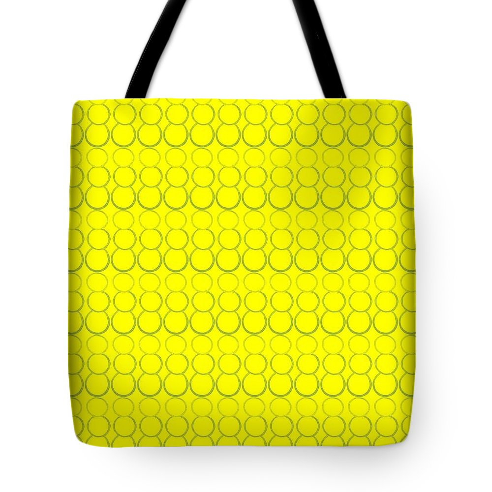 Bubbles Tote Bag featuring the pastel Bubbles All Over The Place 19 by Erma L George