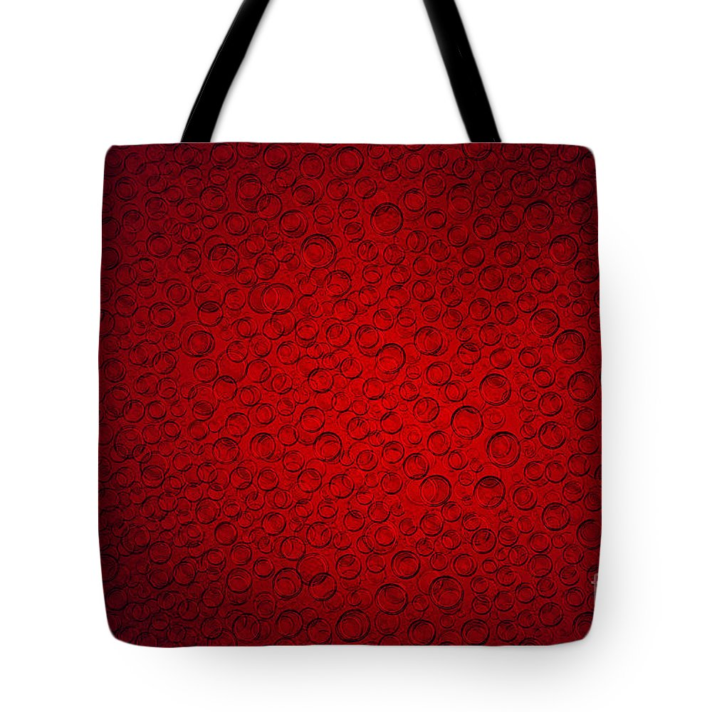 Blob Tote Bag featuring the photograph Bubbles by Michal Boubin