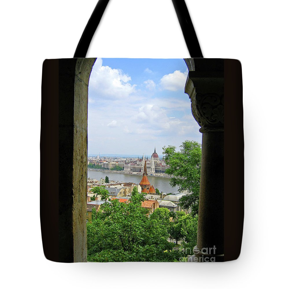 Budapest Tote Bag featuring the photograph Budapest by Ann Horn