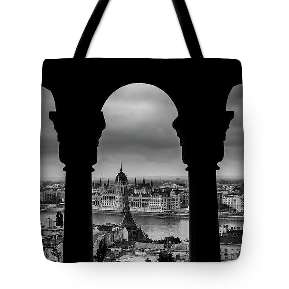 Budapest Tote Bag featuring the photograph Budapest, Hungary by Alexandre Rotenberg