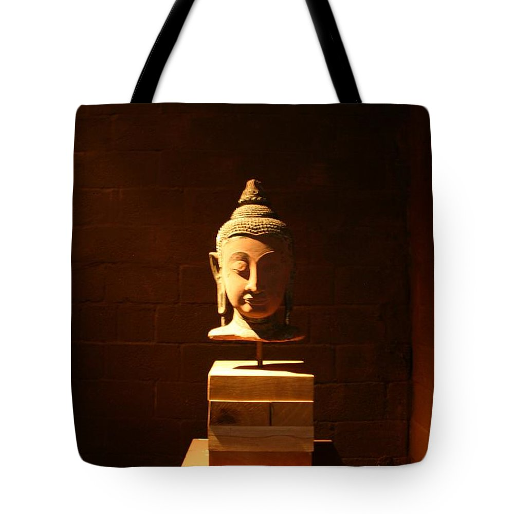 Buddhism Tote Bag featuring the photograph Buddhism In Belgium by Minaz Jantz