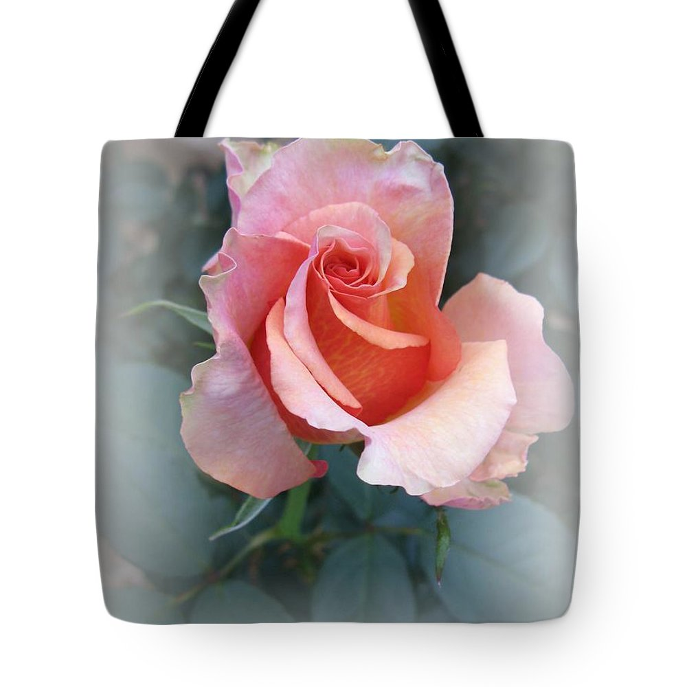 Rose Tote Bag featuring the photograph Budding Beauty by Carol Sweetwood