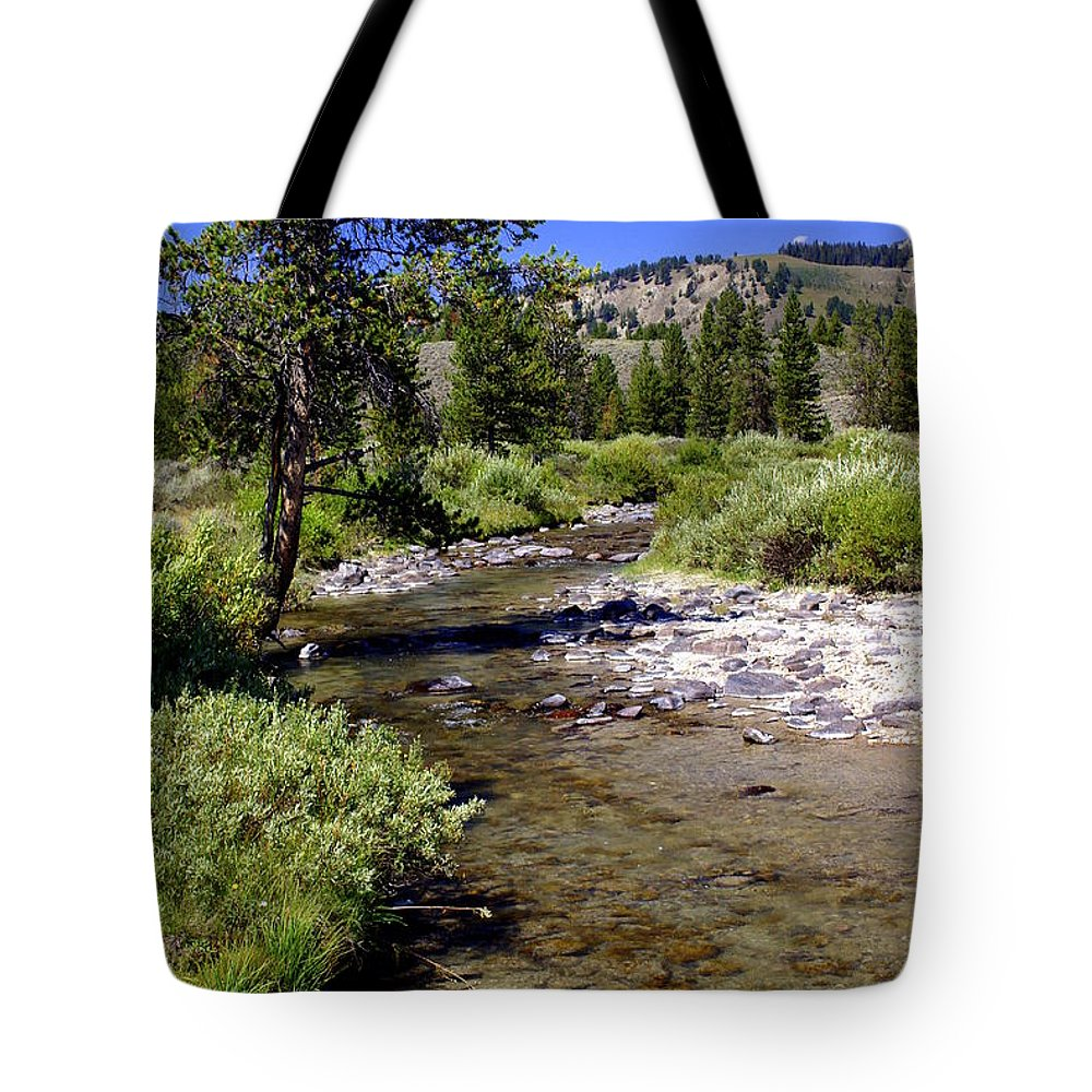 Montana Tote Bag featuring the photograph Buffalo Fork by Marty Koch