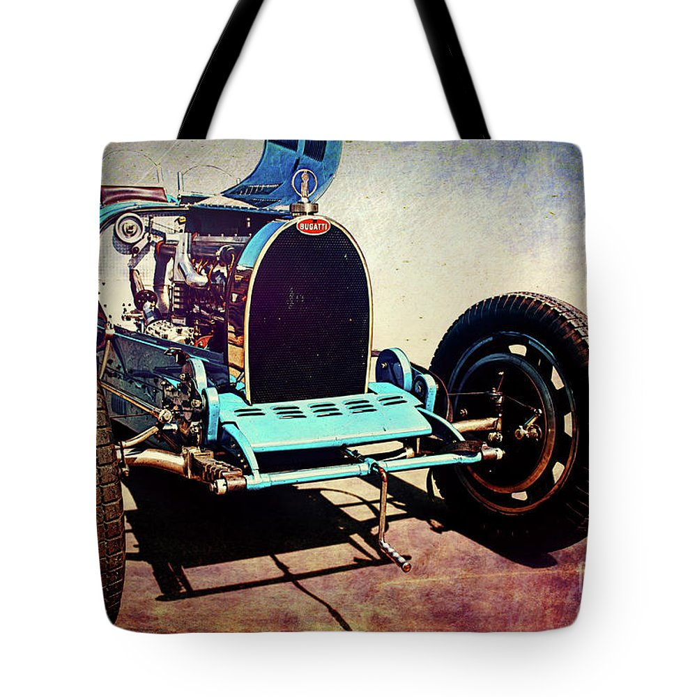 Bugatti Tote Bag featuring the photograph Bugatti Type 35c by Stuart Row