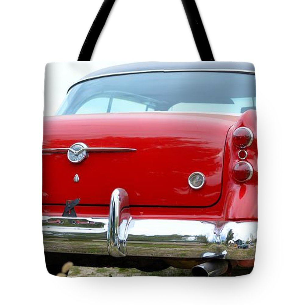 50s Tote Bag featuring the photograph Buick Century by Bonfire Photography