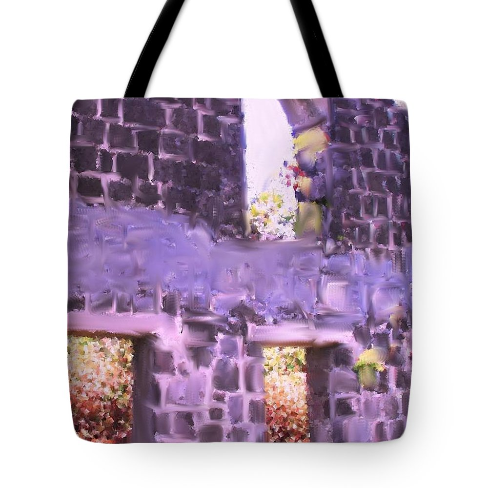 St Kitts Tote Bag featuring the photograph Built To Last by Ian MacDonald