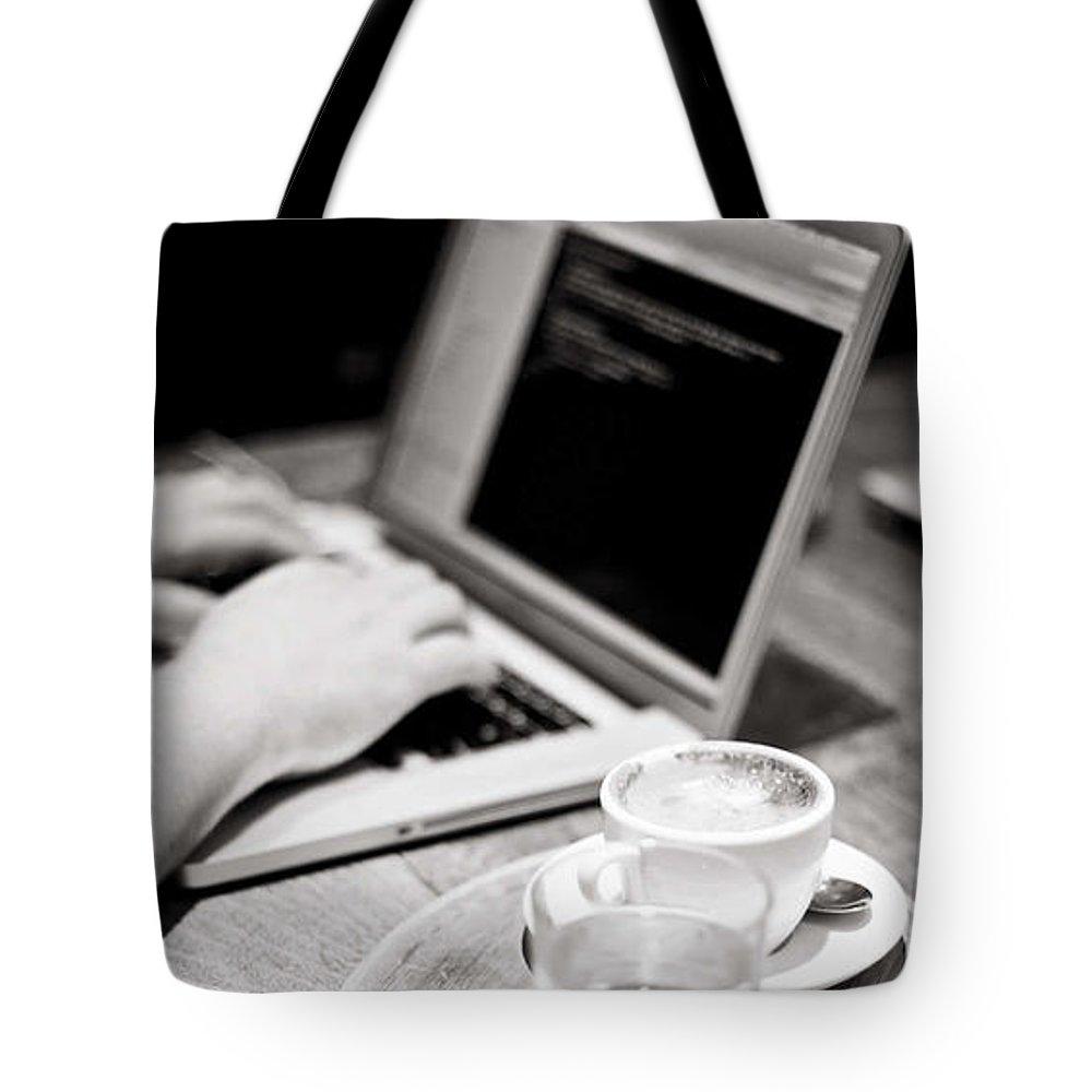Bulk Sms Tote Bag featuring the digital art Bulk SMS Developer API by Natasha Williams