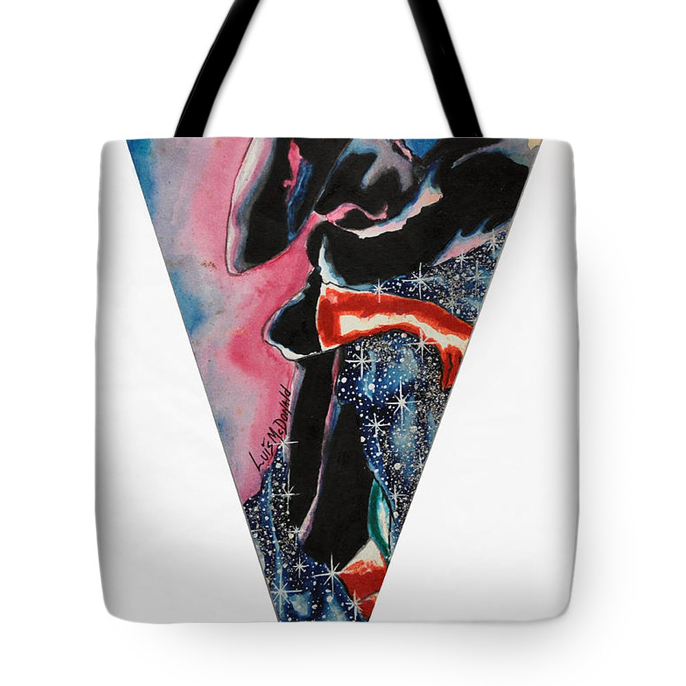 Autumn Tote Bag featuring the painting Bullfighter by Luis McDonald