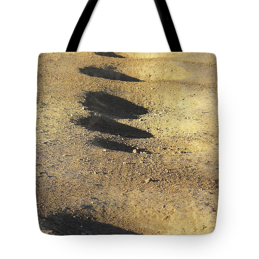 Fun Tote Bag featuring the photograph Bumps In The Road by David Kehrli