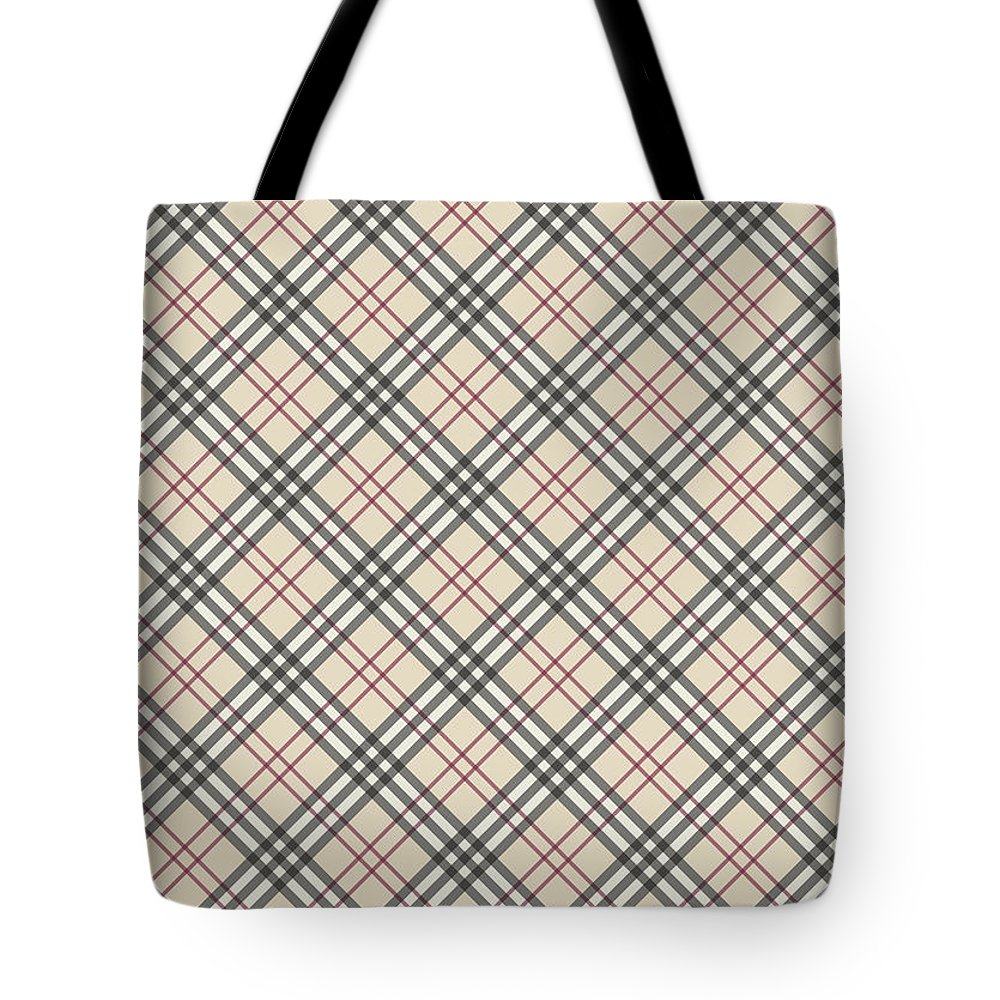 Tote bag burberry - Burberry Tote Bag Featuring The Tapestry Textile Burberry Texture By Taylan Apukovska