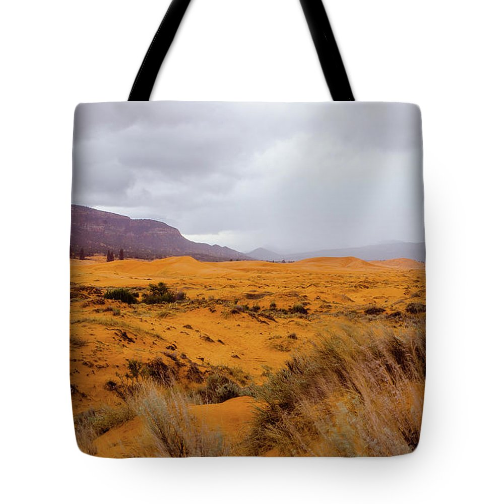Paria Tote Bag featuring the photograph Burnt Earth by Jerry Sellers