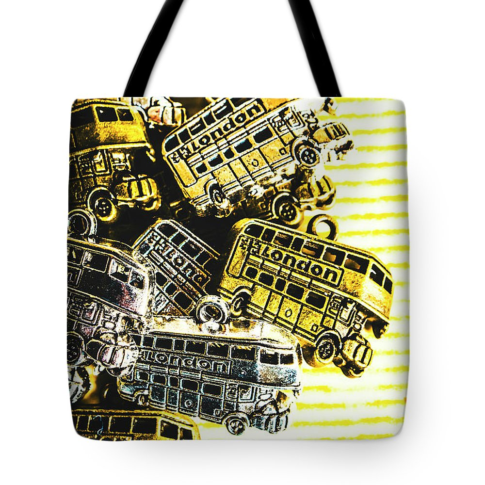 Still Life Tote Bag featuring the photograph Bus Lines by Jorgo Photography - Wall Art Gallery