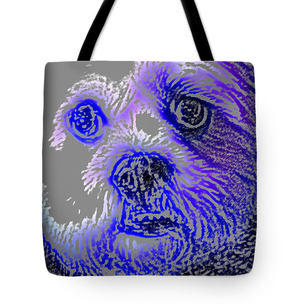 Dog Tote Bag featuring the photograph Buster Photo by Wayne Potrafka