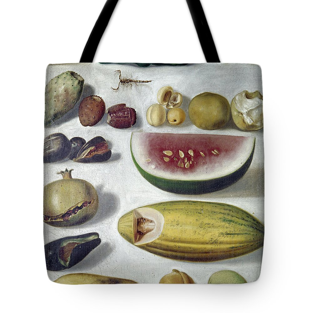 1874 Tote Bag featuring the photograph Bustos: Still Life, 1874 by Granger