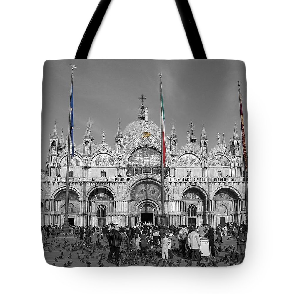 Cityscape Tote Bag featuring the photograph Busy St Marks by Dylan Punke