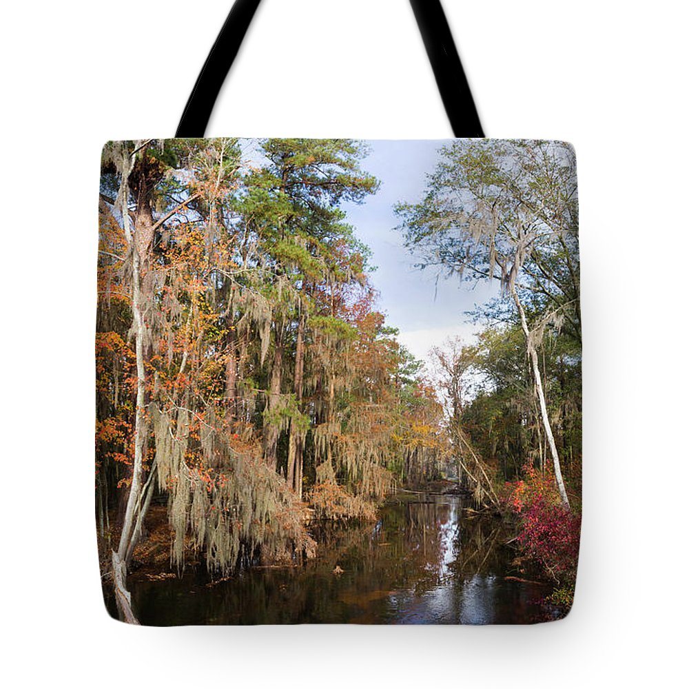 2017 Tote Bag featuring the photograph Butler Creek In Autumn Colors by Gregory Schultz