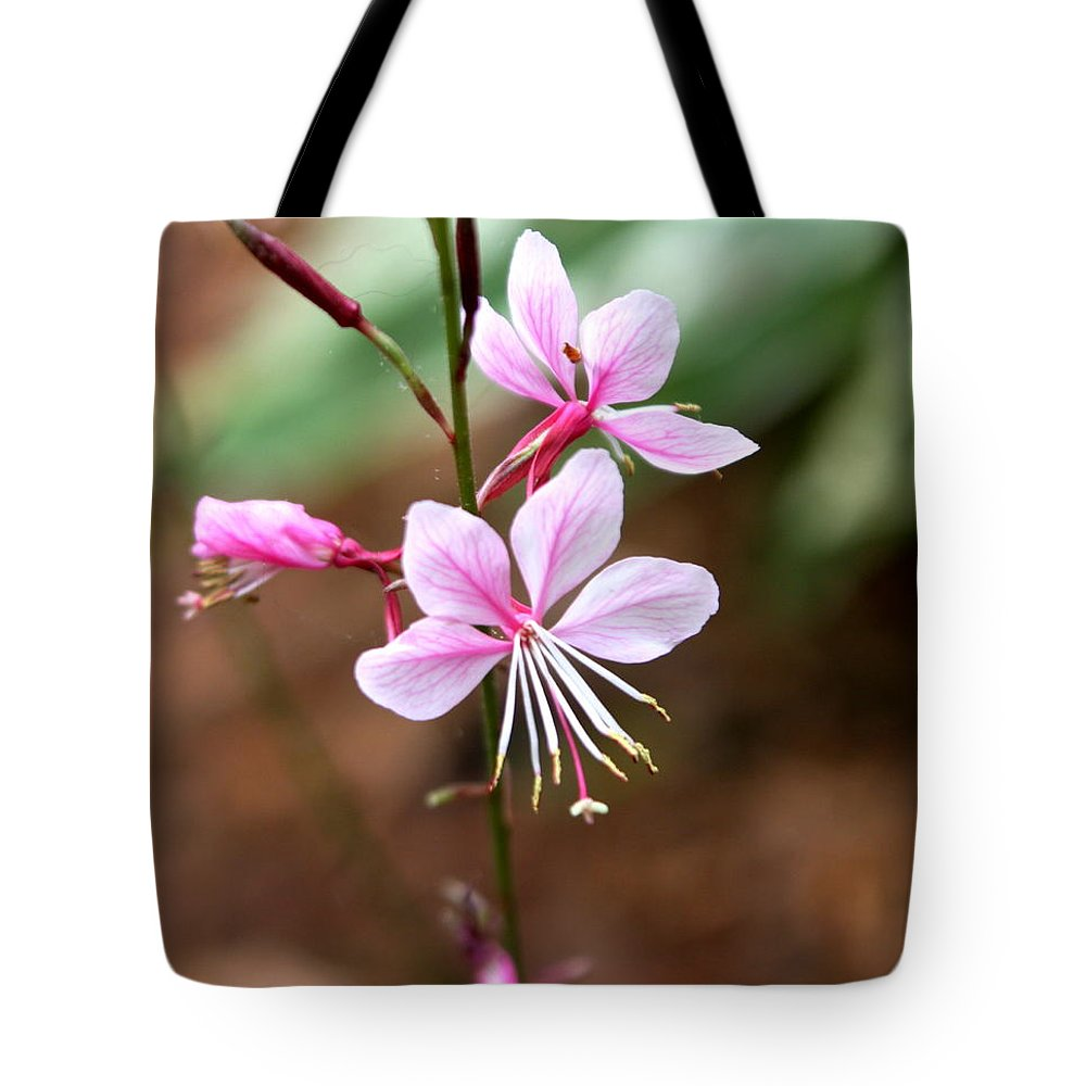 Flowers Tote Bag featuring the photograph Butterflies by Kenna Westerman
