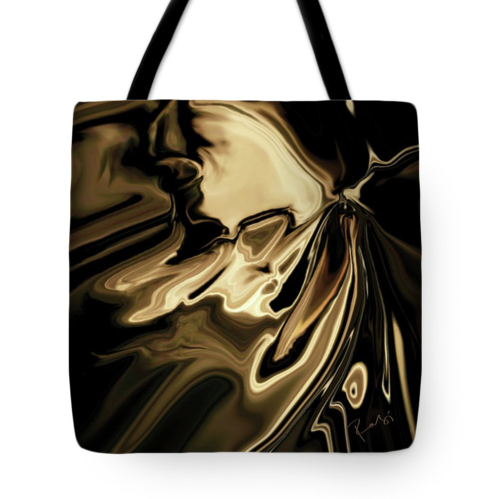 Butterfly Tote Bag featuring the digital art Butterfly 2 by Rabi Khan