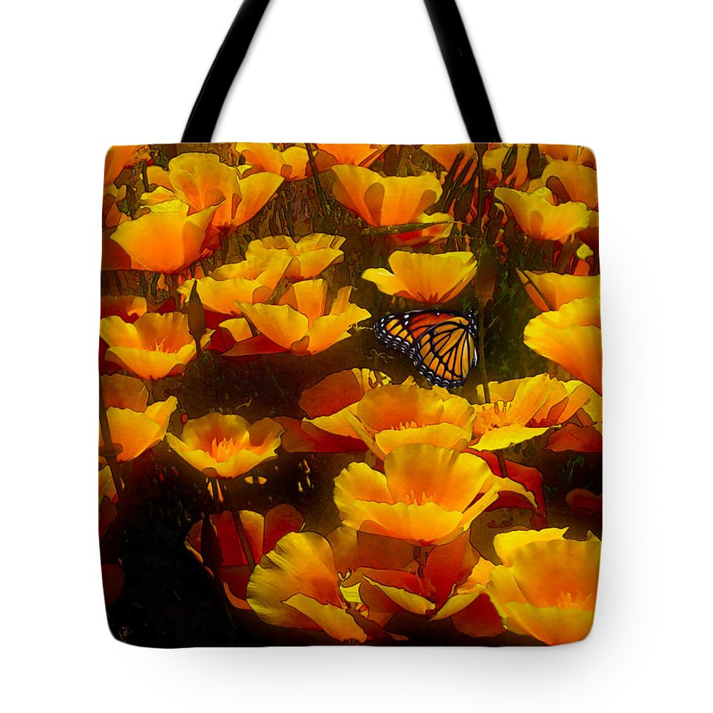 Butterfly Effect Tote Bag featuring the painting Butterfly Effect by Robby Donaghey