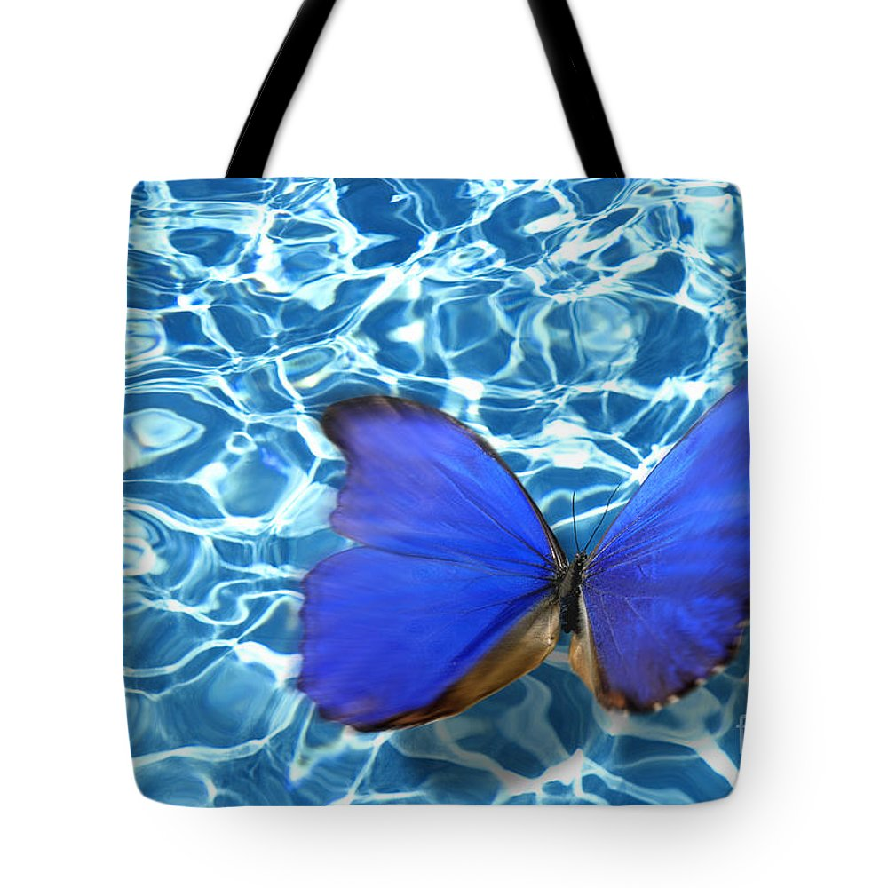 Animals Tote Bag featuring the photograph Butterfly by Tony Cordoza