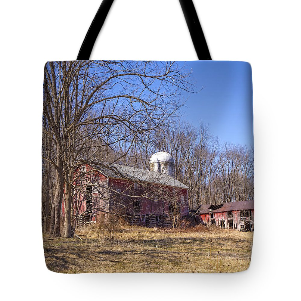 Water Tote Bag featuring the photograph Buttermilk Falls by Paul Fell