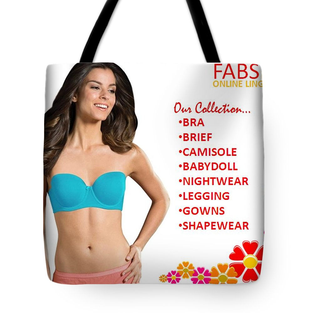Women Bra Online Shopping Tote Bag featuring the photograph buy women  lingerie bra panty and underwear 48a5e251b