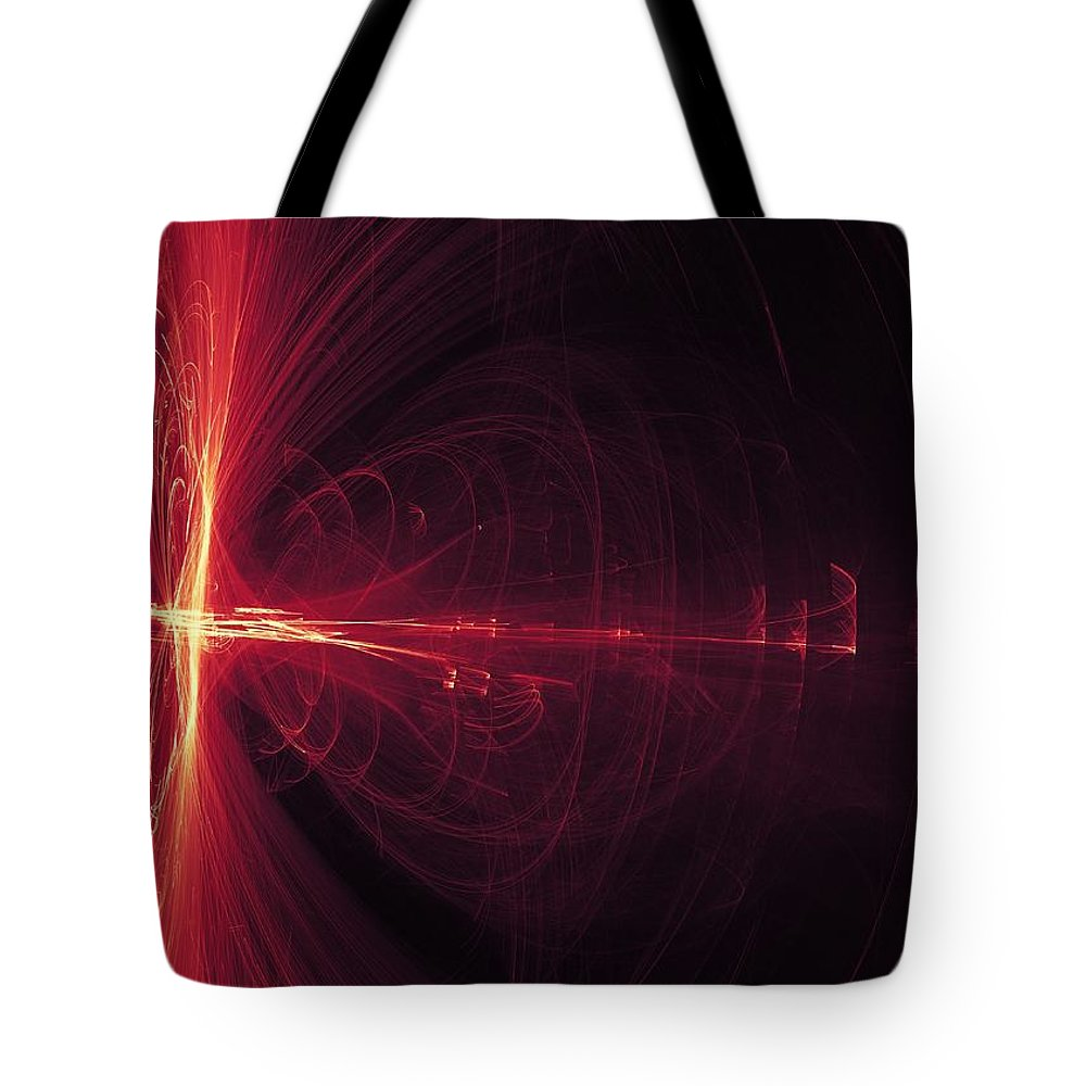Fire Tote Bag featuring the digital art Buzz by Jay Salton
