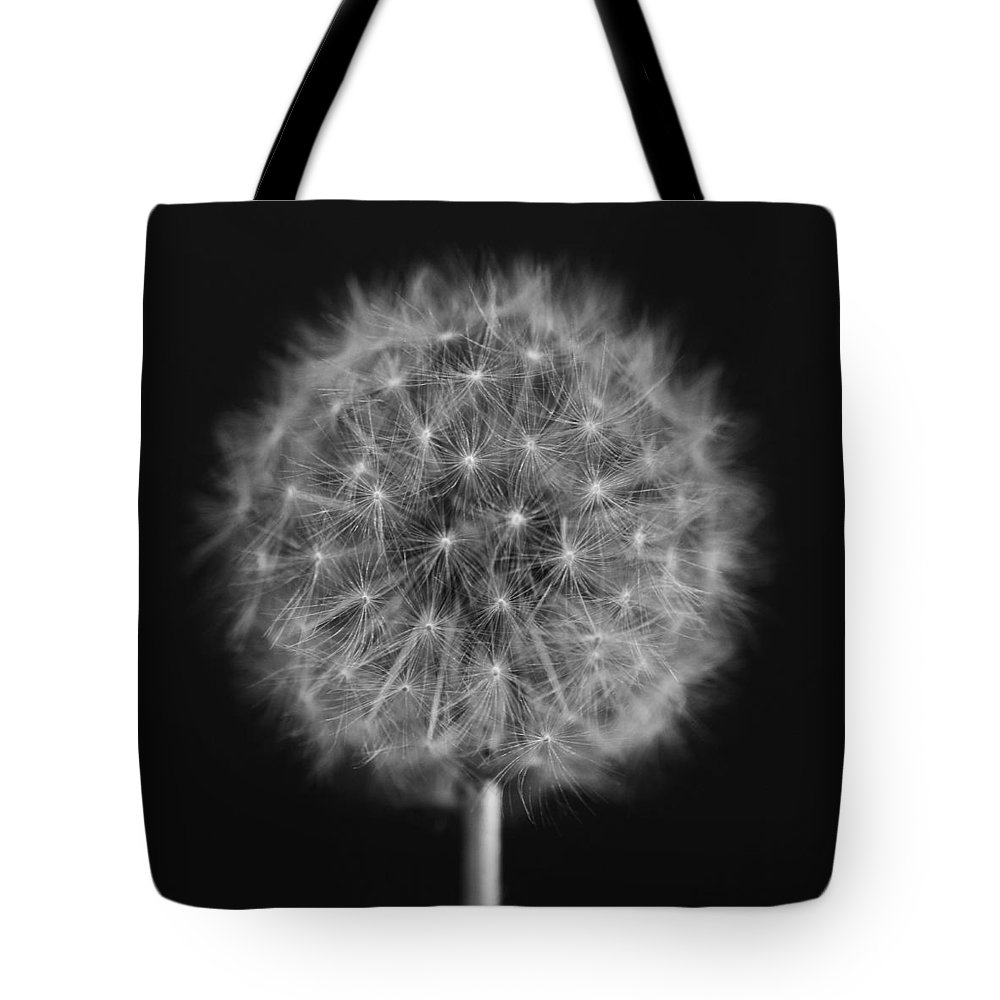 Dandelion Tote Bag featuring the photograph Bw12 by Charles Harden