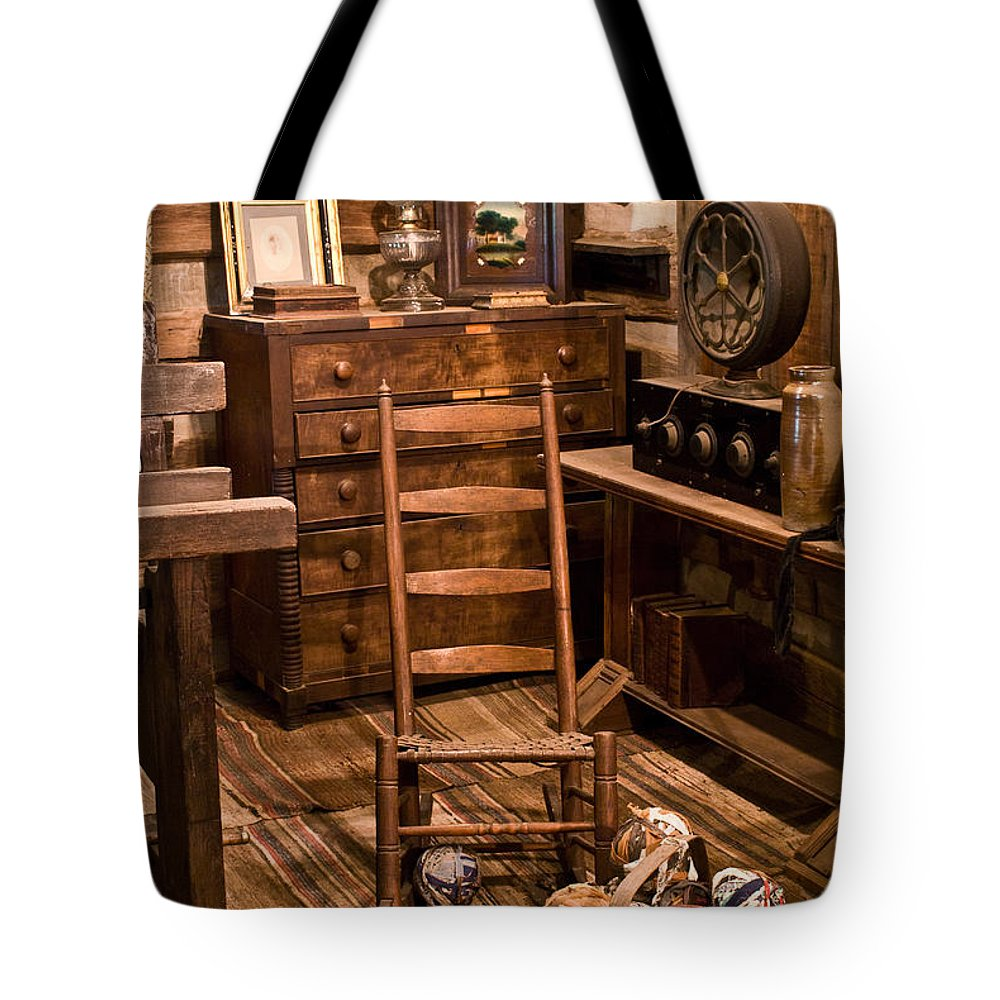 Forgotten Tote Bag featuring the photograph By-gone Days by Douglas Barnett