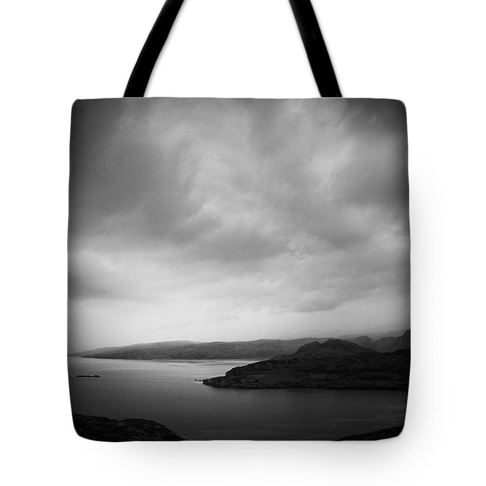 Applecross Peninsula Tote Bag featuring the photograph By The Loch by Dorit Fuhg