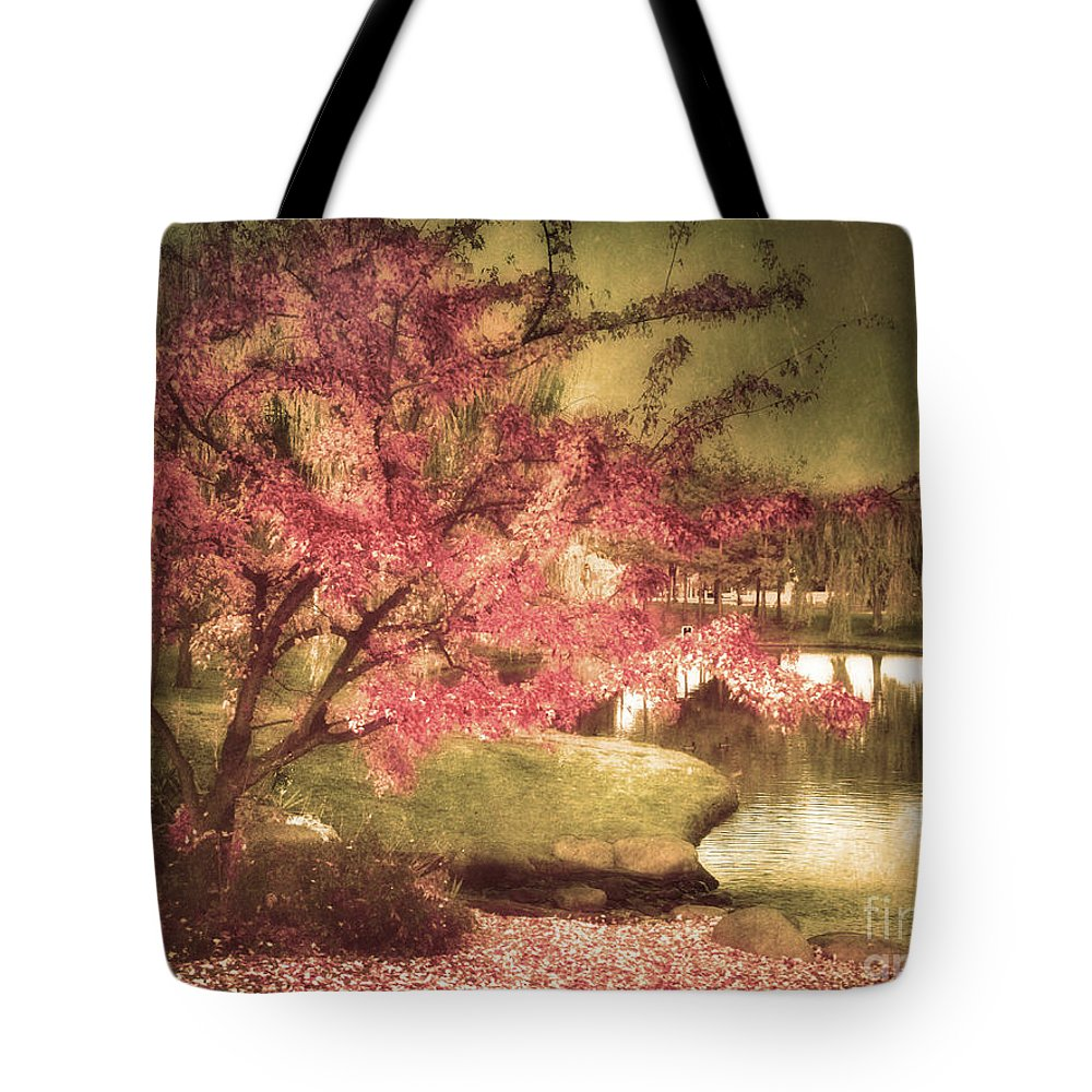 Tree Tote Bag featuring the photograph By The Water by Tara Turner