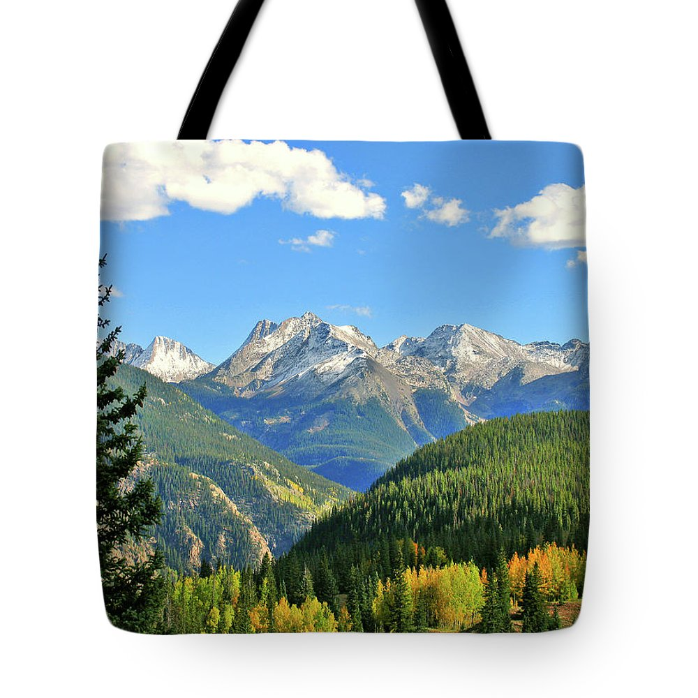 Cabin Tote Bag featuring the photograph Cabin In The San Juans by Scott Mahon