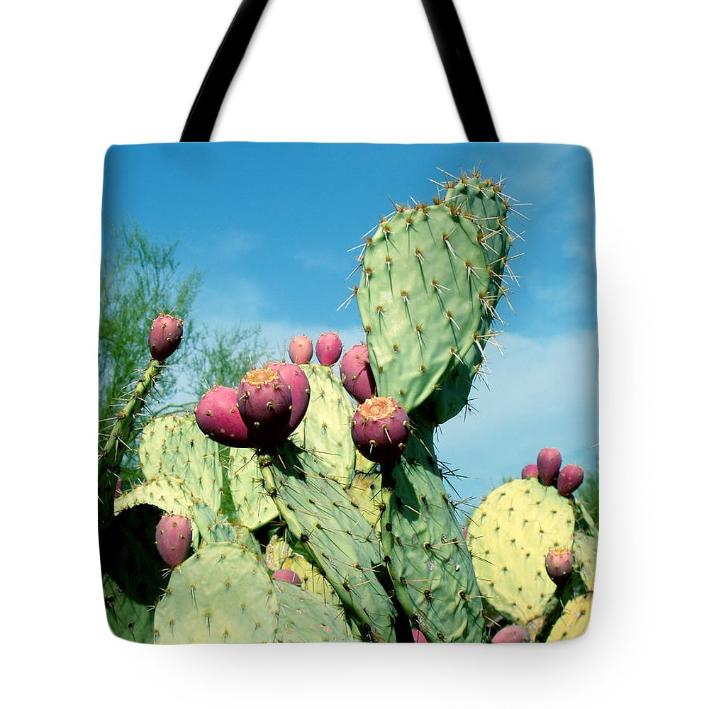 Cactus Tote Bag featuring the photograph Cactus by Wayne Potrafka