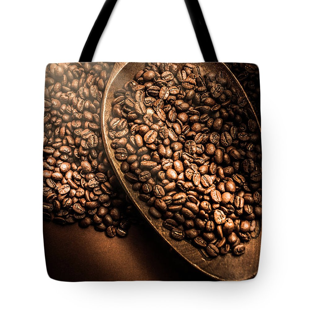 Coffee Tote Bag featuring the photograph Cafe Aroma Art by Jorgo Photography - Wall Art Gallery