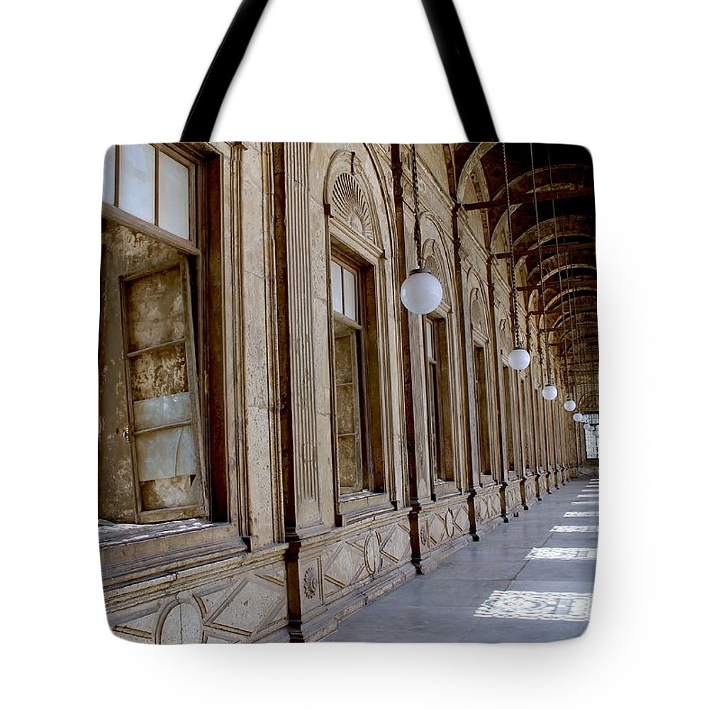 Tote Bag featuring the photograph Cairo Citadel by Christopher Sammons
